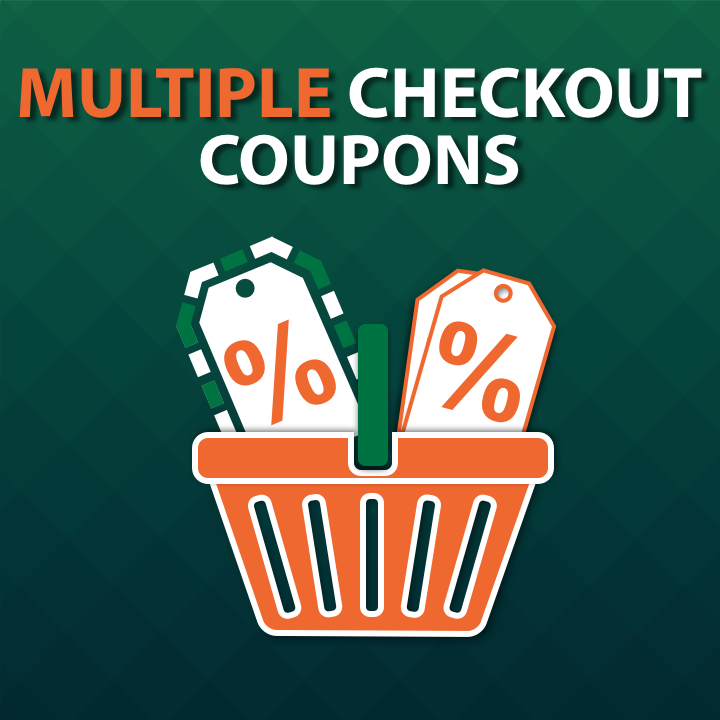 Multiple Checkout Coupons