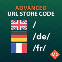 Advanced URL Store Code for Magento 2