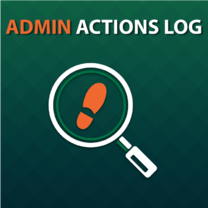 Admin Actions Log