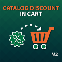 Catalog Discount in Cart for Magento 2