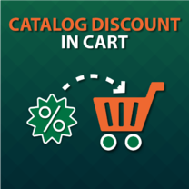 Catalog Discount in Cart