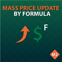 Mass Price Update by Formula for Magento 2