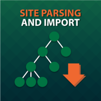 Site Parsing and Import